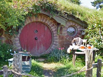Tour the Hobbiton Film Set used for the Lord of the Rings