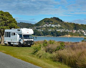 Freedom Camping at Motukaraka Point