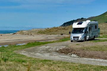 Freedom Camping at Te Tapuwae Marine Reserve