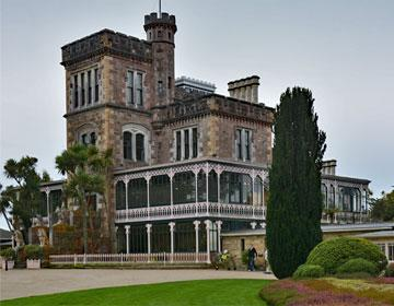 Larnach Castle on the Taeri Peninsula