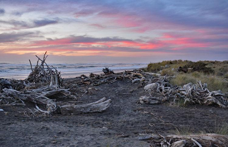 Hokitika Coast Sunset