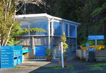 Beachside Holiday Park kitchen and ablutions facility
