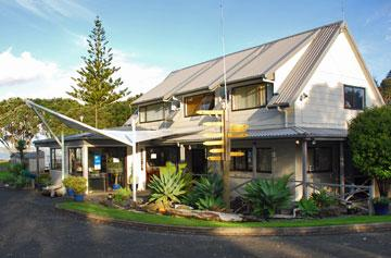 Orewa Top 10 Holiday Park reception