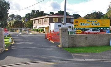 Entrance to the motor park