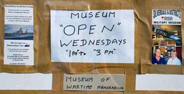 Museum opening times