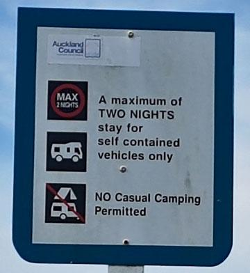 Freedom parking sign