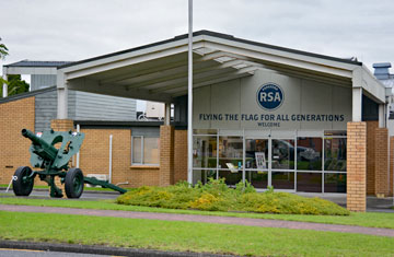 Entrance to the RSA