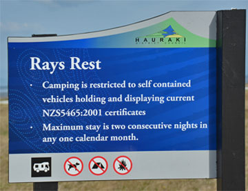 Ray's Rest sign