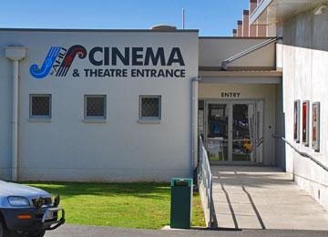 Cinema Entrance