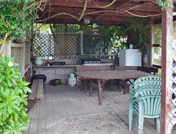 Barbeque area