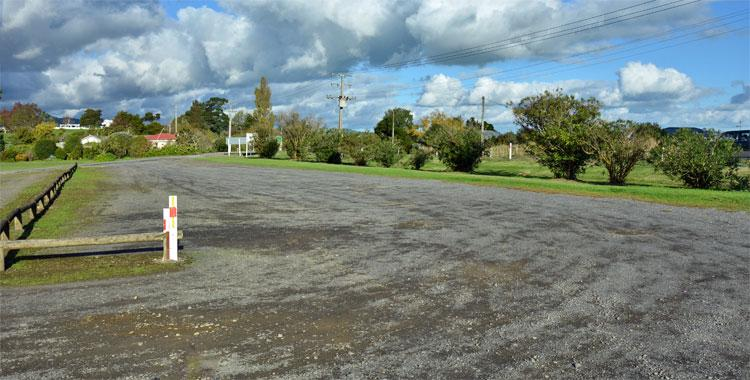 Club parking area