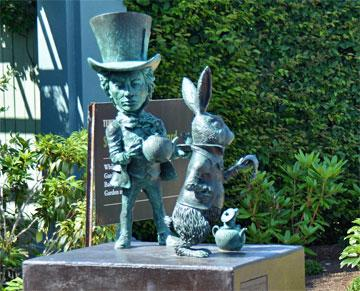 The Mad Hatter and Rabbit