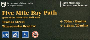 Five Mile Bay Path