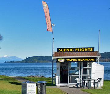 Booking office for scenic flights