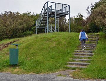 Viewing platform at the top
