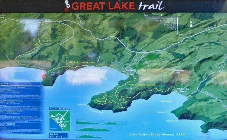 Sign for the Great Lake Trail