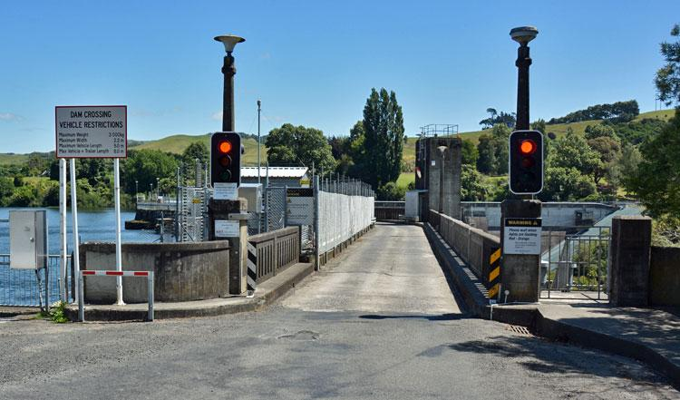 Karapiro Dam Crossing