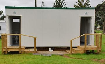 Toilet and shower facilities