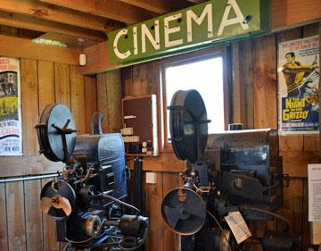 Old time Cinema projectors