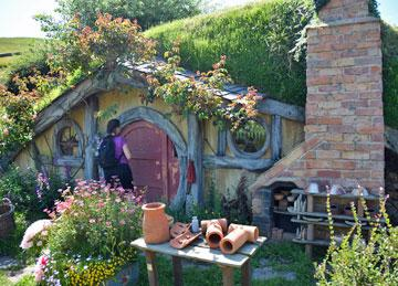 The Hobbit Hole for the local potter