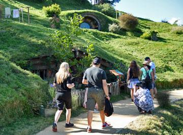 Walking through the Shire
