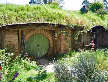 The first of many Hobbit Holes
