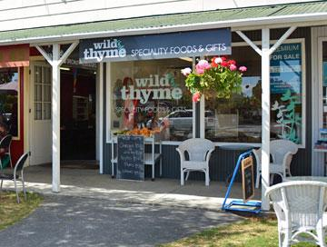 Specialty foods at Wild Thyme