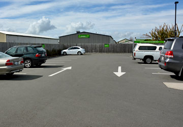 Parking at the Katikati Countdown