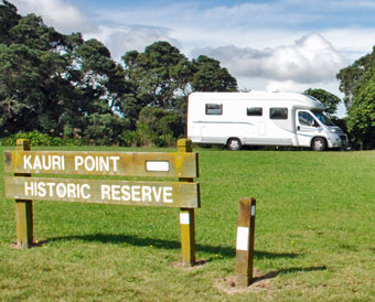 Kauri Point Historic Reserve