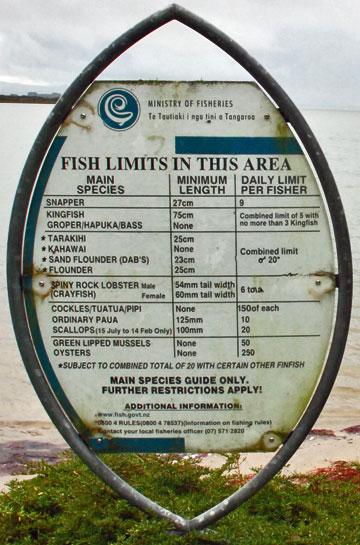 Rv explorer the western bay of plenty pahoia domain for Colorado fishing limits