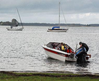 Boats and fishing are key activities at Omokoroa