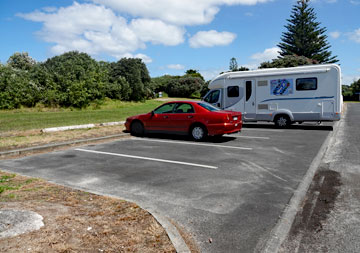 Ruakaka Beach carpark