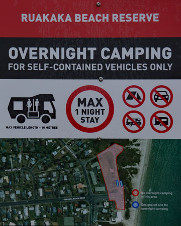 Overnight Camping in the reserve