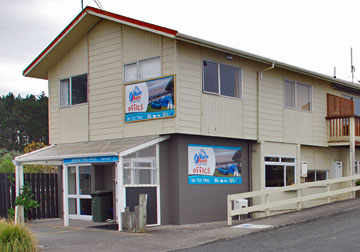 Oakura Beach Holiday Park Office