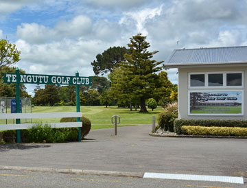 Entrance to the Golf Club