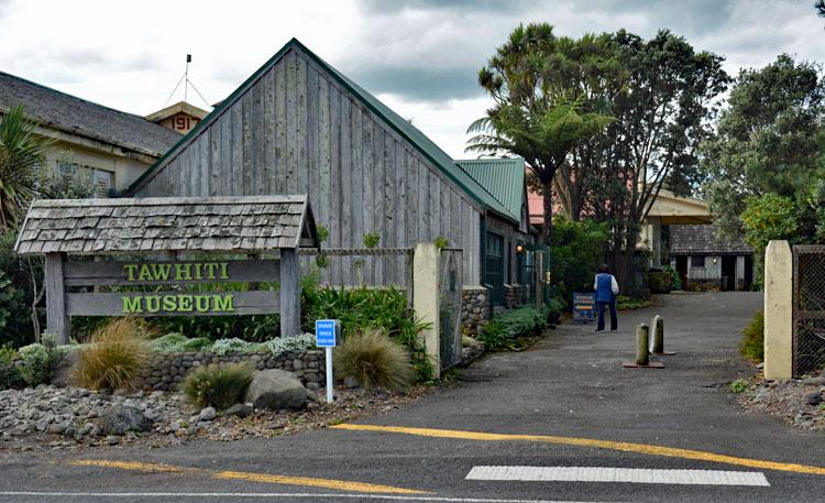 Entrance to the Tawhiti Museum