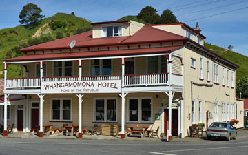 The Whangamomona Hotel