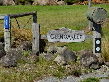 Glenoakley sign