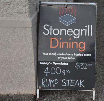 Stonegrill Dining