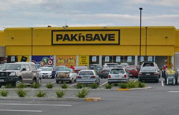 Pak n Save parking
