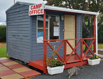 Camp office