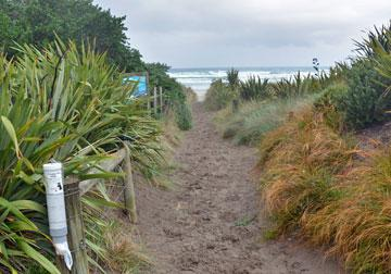 Access to the beach