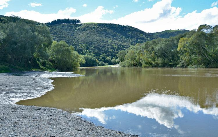 The Taieri river