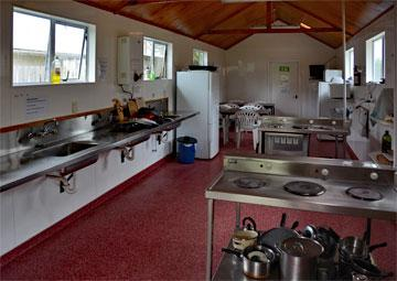 Holiday Park kitchen