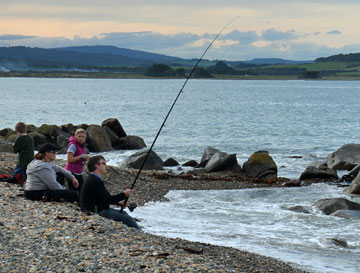 Fishing in Colac Bay
