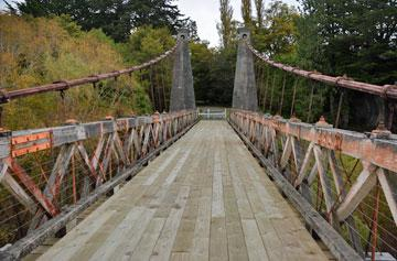 The Clifden Swing Bridge