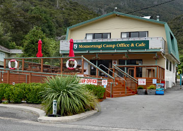 Momorangi Camp Office and Cafe