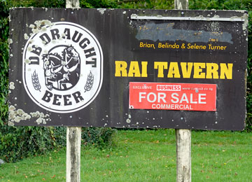 Rai Tavern sign