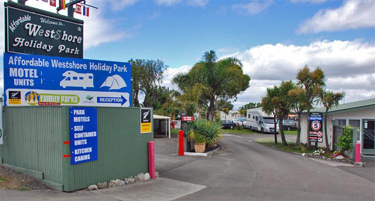 Holiday Park entrance