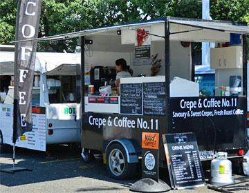 Market day stall on Sunday - coffee